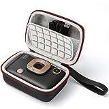 Harte Reisetasche für Fujifilm Instax Mini LiPlay, Reisetasche - Schwarz (graues Futter)