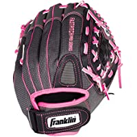 Franklin Sports Ligero de la Serie Fastpitch Softball Glove, 30,5 cm, Unisex, Pink/Gray