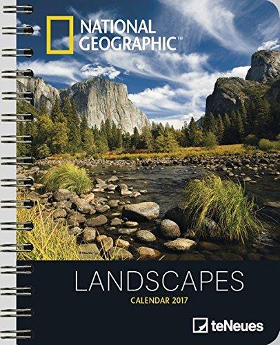 Teneues NG Landscapes Agenda de luxe 16,5 x 21,6 cm Blanc