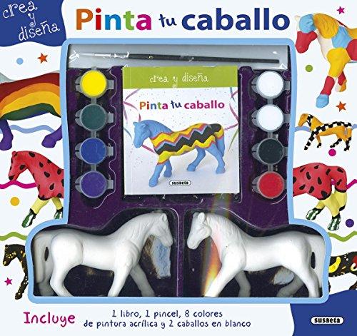 Pinta tu caballo (Crea y diseña) por Susaeta Ediciones S A