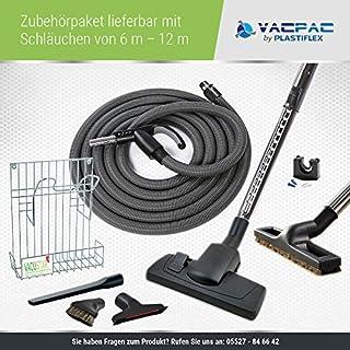 Zentralstaubsauger / Einbaustaubsauger / Staubsaugeranlage Vacustar Zubehörset / Zubehörpaket 3 -VacPac- (9m Schlauch)