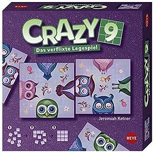 Heye 28502Puzzles de Crazy 9Ketner, diseño de búhos
