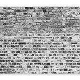 Vlies Fototapete 400x280 cm - 3 Farben zur Auswahl - Top - Tapete - Wandbilder XXL - Wandbild - Bild - Fototapeten - Tapeten - Wandtapete - Wand - Ziegel Mauer f-A-0411-a-c