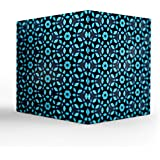 "NISH! Blue Tea Light Candle Holder | Acrylic Tea Light Candle Holder (Clear Acrylic, Large - 7.5"" Cube, 1 Piece)"