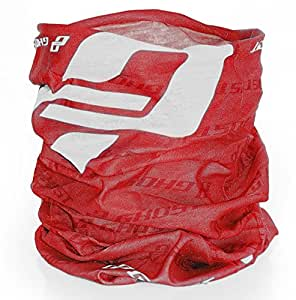 GHOST muffler femme écharpe foulard multifonction rouge modèle 2015