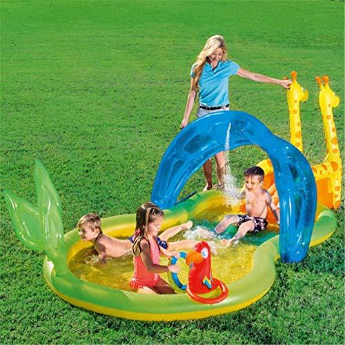 Aufblasbare Zoo Planschbecken Babyschwimmbad Kiddie Pools Kinder Wasserpark Typ Spielzentrum
