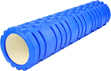 Fitsy Fitness Massage Gym Physio Trigger Point Yoga Foam Roller 23 Inches