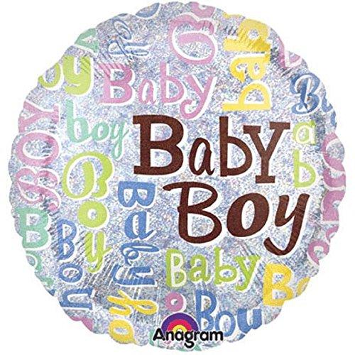 Baby Boy Folie Ballon-45,7cm/45cm