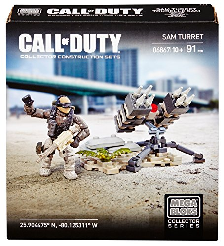 Mega Bloks 6867 - Call of Duty SAM Turret