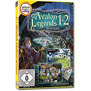 Avalon Legends Solitaire 1 und 2 Standard [Windows 10/8/7]