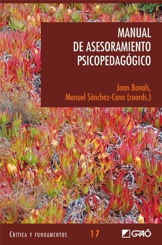 Manual de Asesoramiento Psicopedagógico: 017 (Critica Y Fundamentos) por Carles Augé Lidon