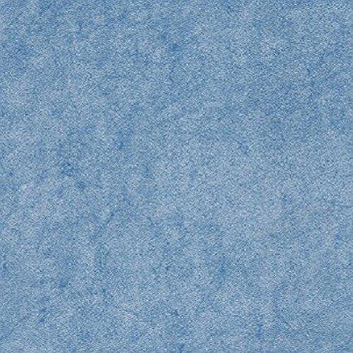 Wachstuch Uni Blau Marble einfarbig Marmor · Eckig 120x160 cm · Länge & Breite wählbar· abwaschbare Tischdecke
