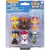 Paw Patrol Nickelodeon Mini Figures - Rocky, Zuma, Skye, Rubble, Marshall and Chase -Set of 6