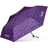 ergobag Regenschirm - Schultaschenschirm für Kinder, extra leicht mit Tasche, Ø90cm -