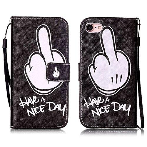 Apple【Eine Vielzahl von Mustern 】iPhone 6 plus Handyhülle Case für iPhone 6 plus Hülle im Bookstyle, PU Leder Flip Wallet Case Cover Schutzhülle für Apple iPhone 6 plus(5.5 Zoll) Schale Handyhülle Cov Farbe-23