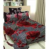 Radhey Enterprises Pure Cotton Double Bedsheet Set – Double Bed Size, Multicolour