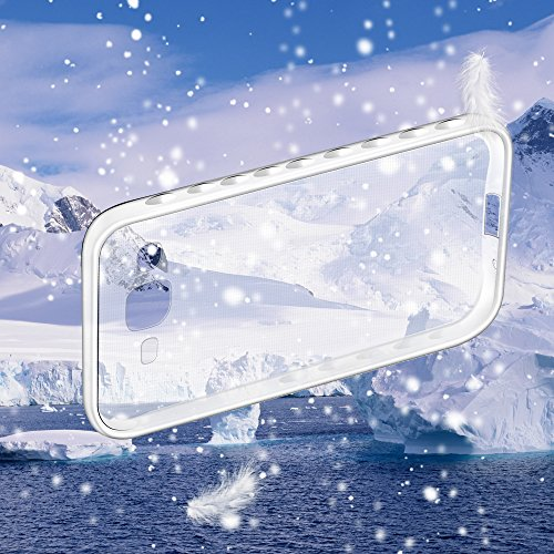 Qiaogle Téléphone Coque - Soft TPU Silicone Housse Coque Etui Case Cover pour Apple iPhone 5 / 5G / 5S / 5SE (4.0 Pouce) - BF71 / Transparent non-slip Crystal Clear BF71 / Transparent non-slip Crystal Clear