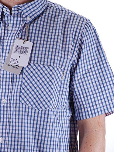 Carhartt Kenneth Hemd Blue Check