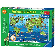 Ravensburger Animals of the World 60 piece Jigsaw Puzzle for Kids age 4 years and up
