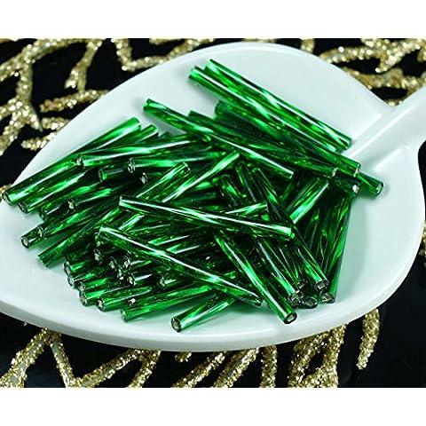 64pcs x 25mm Extra Lungo Verde Smeraldo