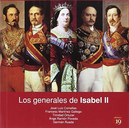 Portada del libro Los generales de Isabel II