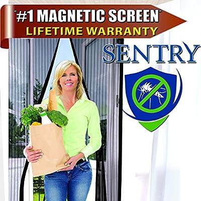 Puerta de pantalla magnética (múltiples tamaños y Variaciones de color) y # x2605; Y # x2605; Resistente y duradero de calidad premium