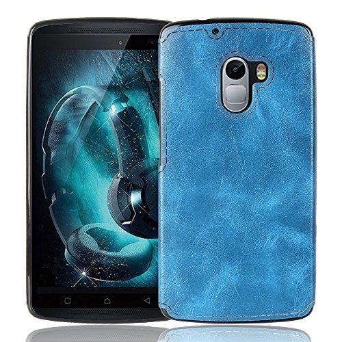 Lenovo Vibe X3 Lite Hülle, CHENXI Slim Zebra-Textur Silikon TPU Schutzhülle Abdeckung Schutz Handy Case für Lenovo Vibe X3 Lite Blau