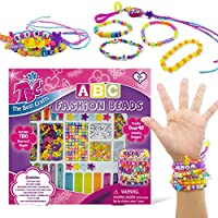 TBC ABC Beads, Letter Beads Cube for kids, Ideal Crafts for jewelry making, Friendship Bracelets, Necklace, Key chains. A-Z Acrylic Alphabet Charms & Plastic Peals