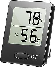 TEKFUN Digitaler Thermometer mit Hygrometer, Thermo-Hygrometer, Hygrometer Luftfeuchtigkeit, Raum Thermometer, 4.5x1.6x5.8cm