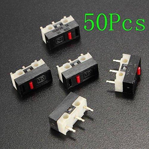 mark8shop 50ohne Griff Ultra Mini Mikroschalter SPDT Sub Miniatur Mikroschalter -