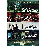 LE CUISINIER, LE VOLEUR, SA FEMME ET SON AMANT Affiche de film - 69x102 cm. - 1989 -...