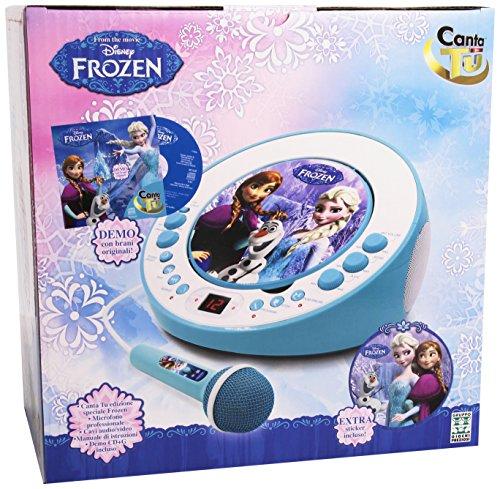 Canta tu di frozen con cd e microfono il karaoke da for Canta tu prezzo toys