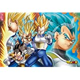 300-piece jigsaw puzzle Dragon Ball Prince of Super Saiyan Frost Art Jigsaw's this I (26x38cm)