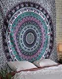Hippie Elephant Tapestries, Large Size T...