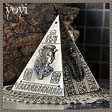 Vintage ▾ Piramide I soldi Scatola Resina mestiere I soldi Banca Egitto stile porcellino Banca Moneta risparmiatore risparmi Conservazione Desktop Decorazione bambini Creativo Regalo , S