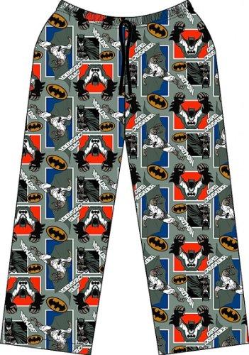 TopsandDresses - Bas de pyjama - Fille - Gris - Batman - 11 ans