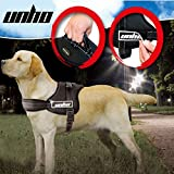 UNHO No Pull Harness Dog Lead Padded Pet Walking Harness Dog Body Vest