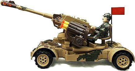 Toyshine Remote Control Tank, Full Function, Rechargeable, Mega Size