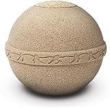 """Verbrennung Asche urn- Erwachsene Größe–""""Eco Friendly""""–Runde biologisch abbaubare Urne–Meer und Land Burial"""