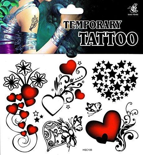 n Fake-Tattoos tatoo tatto tattu tattuu einmal tatu (Fake-tatoo)