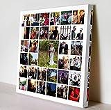 Cuadro Collage con TU S Fotos!!, impresión en Lienzo sobre Bastidor de Madera de 35mm (60x60)