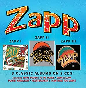 Zapp I Zapp Ii Zapp Iii 3 Classic Albums On 2cds
