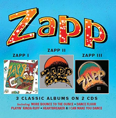 Zapp I / Zapp II / Zapp III: 3 Classic Albums on 2CDs - Deluxe Edition (Jewel Case)
