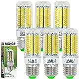MENGS® 6 Stück E27 LED Lampe 15W AC 220-240V Kaltweiß 6500K 180x2835 SMD