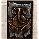 Unravel India Teracotta Abstract Ganesha Wall Décor