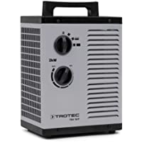 TROTEC Keramik Heizlüfter Elektroheizer TDS 10 P inkl. Mehrstufen-Temperaturregelung bis 2.000 Watt (2 kW) Bauheizer mit…