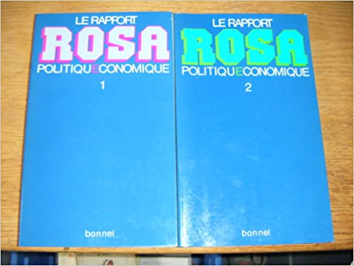 Le rapport Rosa pdf, epub ebook