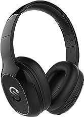 SoundPEATS Bluetooth Bügelkopfhörer 500 mAH, 2 in 1 Wirless & 3.5mm Wired on ear Headset Kabelgebundene Kopfhörer solider Bass ausziehbar Stereo over ear Headphone Hörer Integiertes Mikrofon Kompatibel mit Samsung / iphone/Huawei