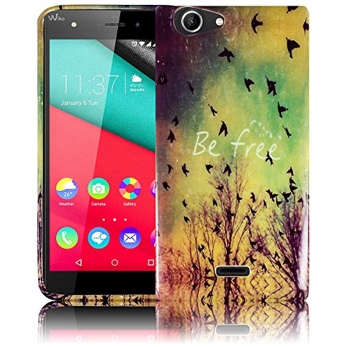 Wiko PULP 3G / 4G - BE FREE Silikon Schutz-Hülle weiche Tasche Cover Case Bumper Etui Flip smartphone handy backcover thematys®