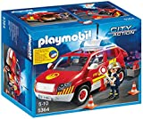 Playmobil 5364 City Action Fire Chief´s Car with Lights and Sound